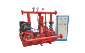 CHILLED WATER & FIRE PUMPS