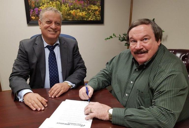 American Wheatley Distribution Contract